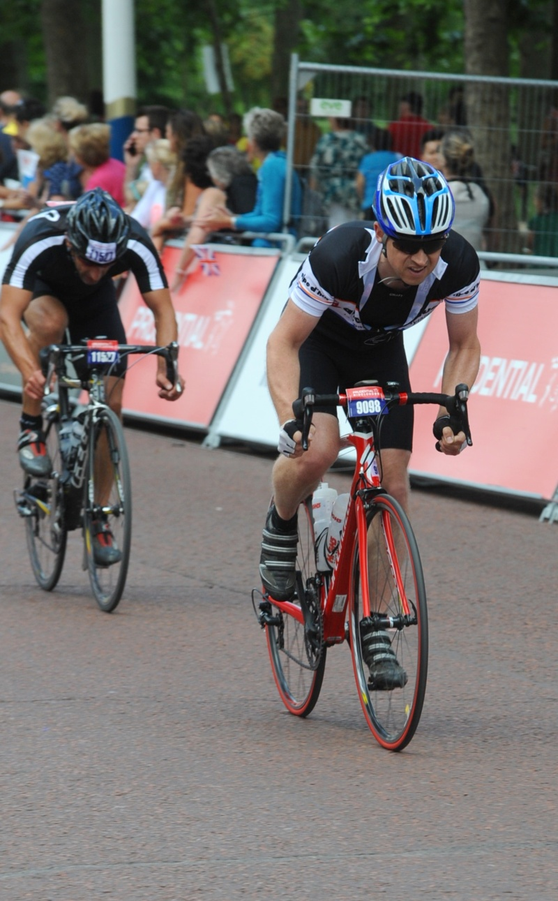 Steve Gordon, Prudential Ride London 2013. 4th August 2013. Finish time 4h 42m 5s.